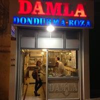 7/21/2013 tarihinde İbrahim A.ziyaretçi tarafından Damla Dondurma'de çekilen fotoğraf