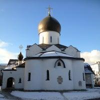 Снимок сделан в Марфо-Мариинская обитель милосердия пользователем Алексей Г. 12/23/2012