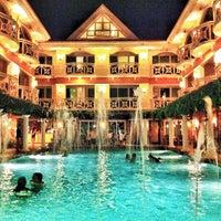 Photo taken at Boracay Mandarin Island Hotel by Jomz AJ G. on 2/20/2013