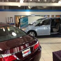 Photo taken at Muller Honda of Gurnee by Steve F. on 11/28/2012