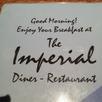 Photo taken at Imperial Diner by Kathleen D. on 1/17/2013