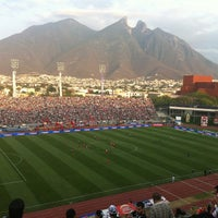 Photo taken at Estadio Tecnológico by Karina F. on 4/14/2013