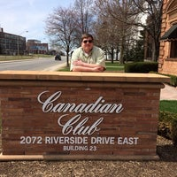 Photo taken at Canadian Club Brand Center by David H. on 4/20/2014
