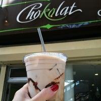 Photo taken at Chokolat Patisserie by Mollly G. on 9/22/2012
