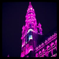 Photo taken at Brussels Town Hall by Bart V. on 12/15/2012