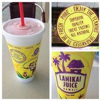 Photo taken at Lanikai Juice by Patrick W. on 5/12/2013