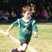 Photo taken at Vineyards Soccer Fields by Debra B. on 12/7/2013