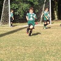 Photo taken at Vineyards Soccer Fields by Debra B. on 12/14/2013