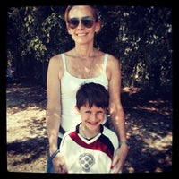 Photo taken at Vineyards Soccer Fields by Debra B. on 5/18/2014