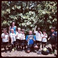 Photo taken at Vineyards Soccer Fields by Debra B. on 5/17/2014