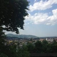 Снимок сделан в Greiffenegg Schlössle Restaurant пользователем Арина Б. 7/7/2013