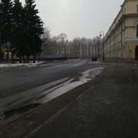 Photo taken at Парковка Философского Факультета СПБГУ by Вера П. on 3/23/2013