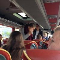 Photo taken at De Jubal Bus by Paul V. on 9/27/2014