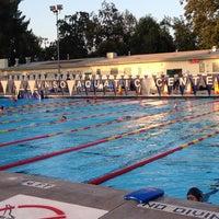 Photo taken at Van Nuys Sherman Oaks Pool by Jia D. on 6/13/2013
