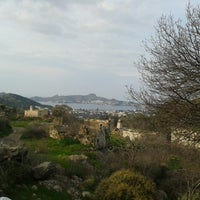 Photo taken at sandıma köyü by Pelin E. on 1/18/2015