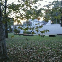 Photo taken at Parco Porporati by Donatella P. on 10/16/2012