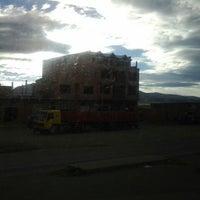 Photo taken at Patacamaya by Gustavo L. on 7/19/2013