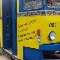 Photo taken at Трамвай-кафе by Valentyn P. on 8/1/2015