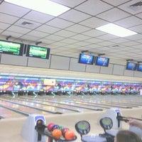 Photo taken at Buffaloe Lanes South Bowling Center by Jason S. on 9/21/2012