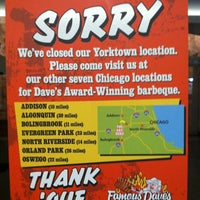 Photo taken at Famous Dave's Bar-B-Que by Mike S. on 12/31/2012