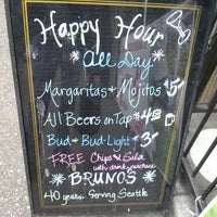 Photo taken at Bruno's Mexican-Italian Restaurant by Beer J. on 8/1/2013