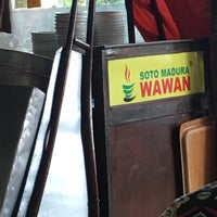 Photo taken at Soto Madura Wawan by Akira P. on 9/15/2017