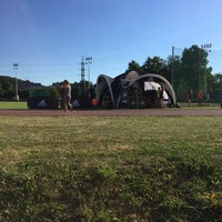 Photo taken at Fakulta tělesné výchovy a sportu by Jiří H. on 6/19/2017