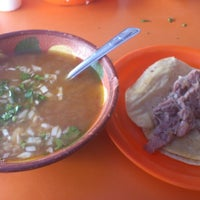 Photo taken at Barbacoa y Consome Chano by Jesinte M. on 10/28/2012