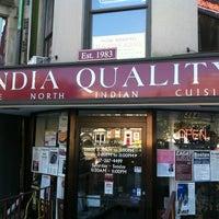Das Foto wurde bei India Quality Restaurant von Brandon I. am 10/13/2012 aufgenommen