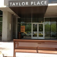 Photo taken at Taylor Place Residence Hall by Jay T. on 5/4/2013