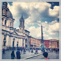 Photo taken at Piazza Navona by Marco C. on 7/7/2013