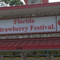 Photo taken at 2014 Florida Strawberry Festival by Johnny L. on 3/9/2013