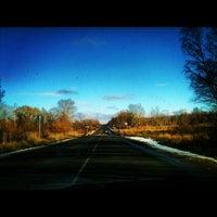 Photo taken at Киевское шоссе by Lesya on 10/30/2012