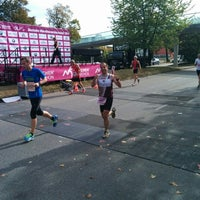 Photo taken at München Marathon by Julia H. on 10/12/2014