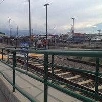 Photo taken at UTA FrontRunner Murray Station by Siniva T. on 7/29/2013