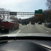Photo taken at Schuylkill Expressway by Hillard T. on 4/7/2013