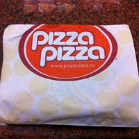 Photo taken at Pizza Pizza by Warren G. on 4/25/2014