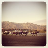 Photo taken at Santa Anita Park by Bruce S. on 1/14/2013