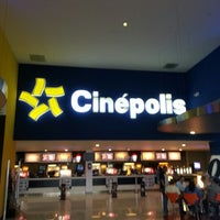 Photo taken at Cinépolis by Mau A. on 10/21/2012