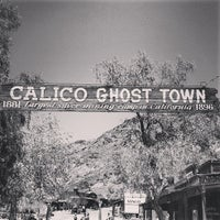 Photo taken at Calico Ghost Town by Lucas R. on 8/21/2013