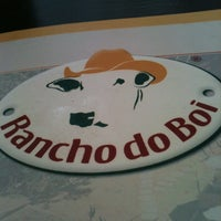 Photo taken at Rancho do Boi by Helbert C. on 1/1/2013
