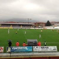 Photo taken at Stadio Velodromo Rino Mercante by Leonardo N. on 11/11/2012