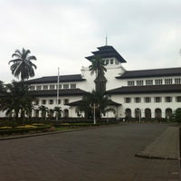Photo taken at Gedung Sate by Castiliano Y. on 5/9/2013