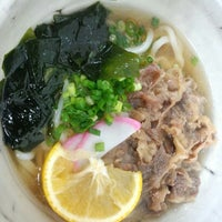 Photo taken at 手打うどん きたに by TanMen on 1/11/2014