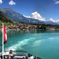 Photo taken at Brienzersee by Ceylan A. on 8/16/2013