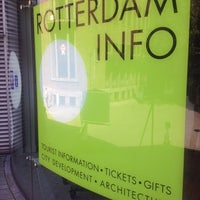 Photo taken at Rotterdam Tourist Information by Levent A. on 7/19/2014
