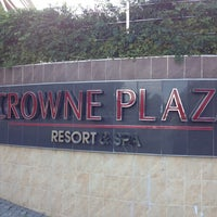 Photo taken at Crowne Plaza Antalya by Levent A. on 11/11/2012