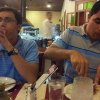 Photo taken at Restaurante Pizzaria e Chopperia Makey by Pe. Jonas B. on 10/21/2012