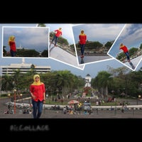 Photo taken at Monumen Perjuangan Rakyat Jawa Barat by Na LoeMoet on 7/20/2013