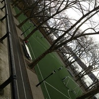 Photo taken at 101 Street Soccer Field by Jared W. on 3/26/2013